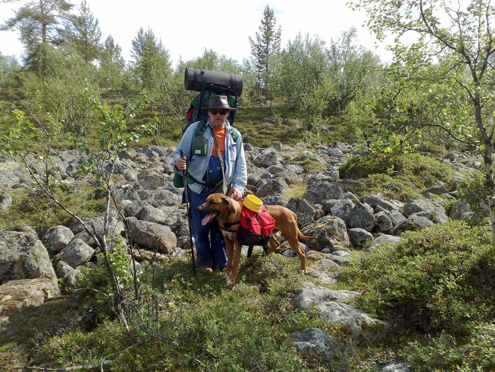 Luka ja Kari Muotkalla 2008